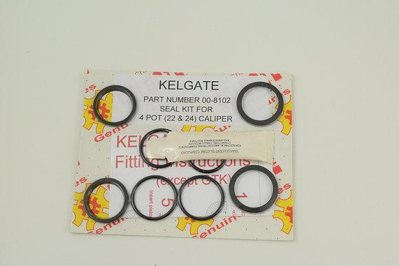 Seal Kit - KA4 Adjustable 4 Pot Caliper