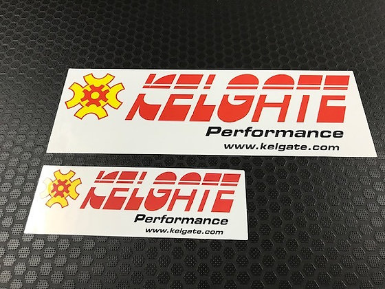 Kelgate Sticker (incl web address)
