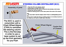 Kelgate R3 Steering Column Centraliser guide