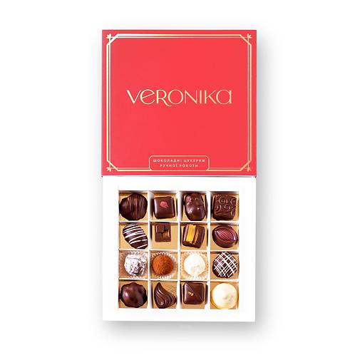 Велике Асорті шоколадних цукерок ручної роботи