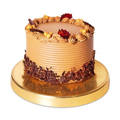 Торт кавово-горіховий
