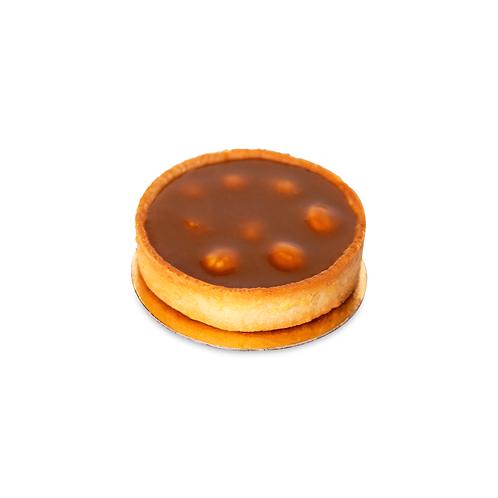 Тарта з шоколадом та горіхами