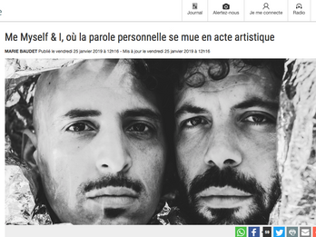 Création de L.U.C.A. - Un article dans La Libre Belgique