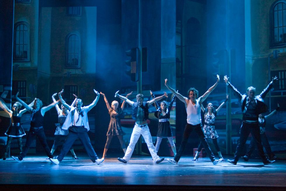 Riff in WEST SIDE STORY Theater Hagen