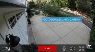 كاميرات المراقبة                           ( الحارس الذكي )