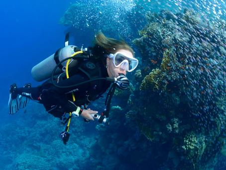 Equipamento de mergulho: o ar que respiramos embaixo d'água