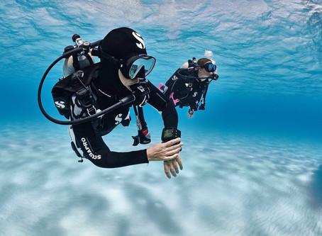 Navegação e orientação subaquática: o uso da bússola embaixo d'água