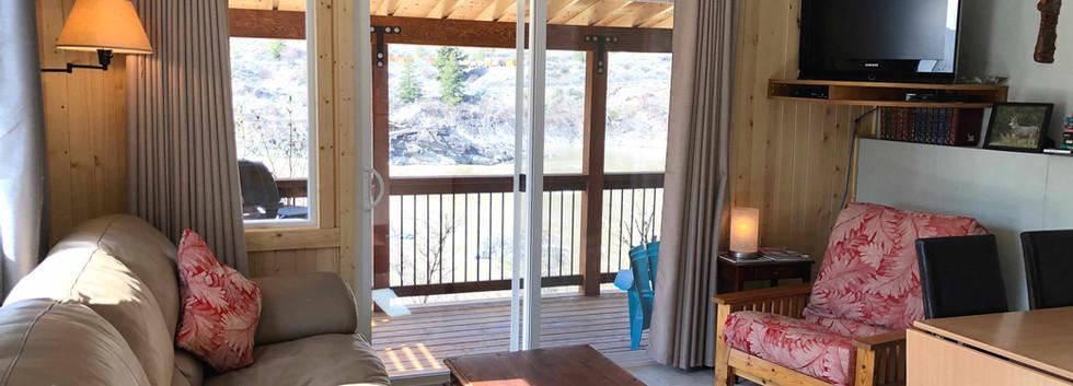 Living Room, Fraser Cove Cabin