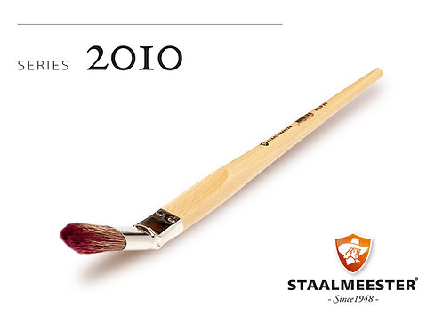 Staalmeester Bent Brush - #24