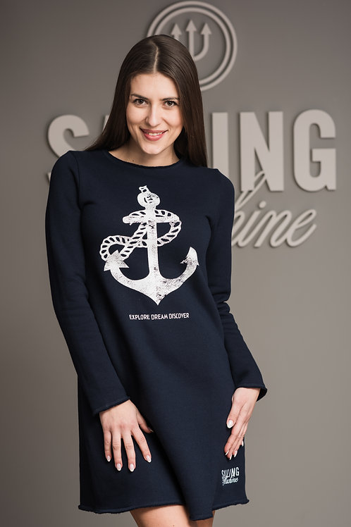 Dress Anchor Navy
