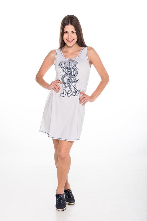 Dress Jellyfish White