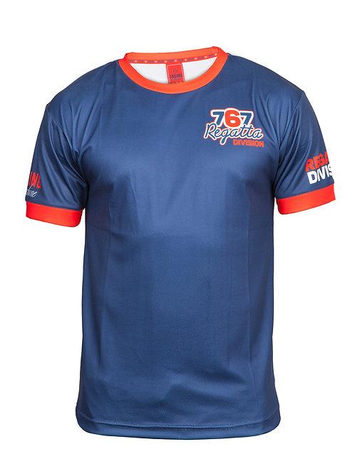 Technical T-shirt 767RD Blue