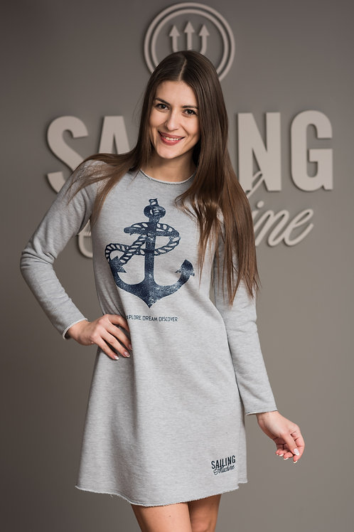 Dress Anchor Gray