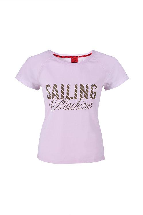 T-shirt SM logo pink