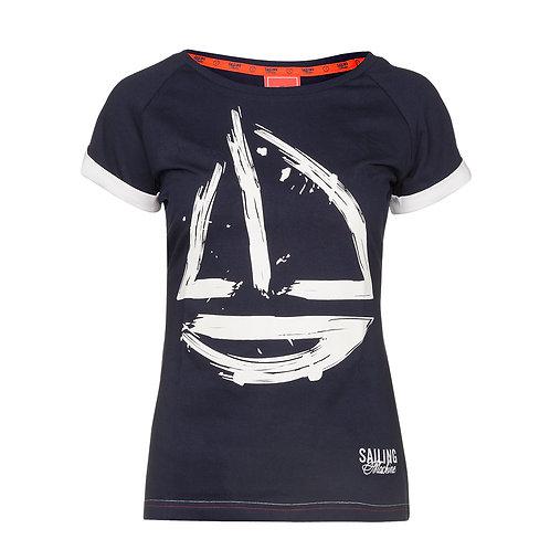 T-shirt Yacht Navy