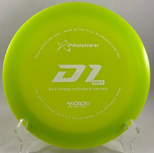 Prodigy 400g D1 Max