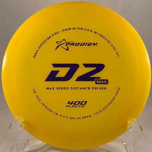 Prodigy 400 D2 Max