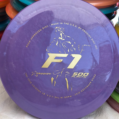 2020 Kevin Jones Signature Series 500 F1