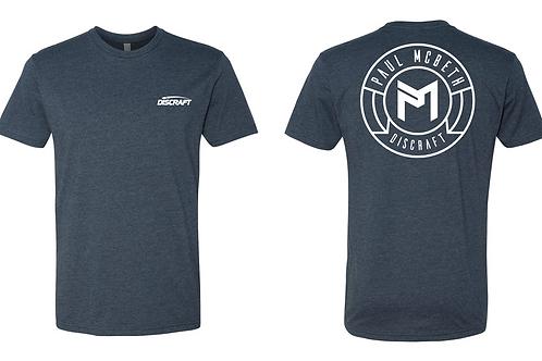 Discraft Paul McBeth Circle Logo Tri-Blend T-Shirt