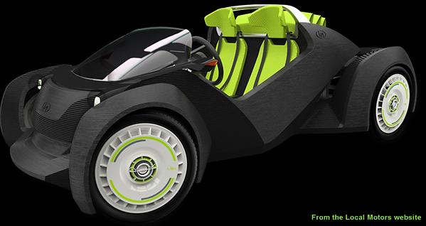 3d car, 3d printer car