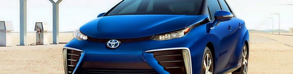 mirai fuel cell car