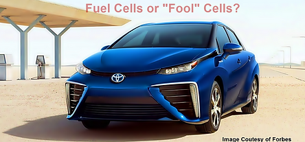 Mirai Fuel Cell Cars
