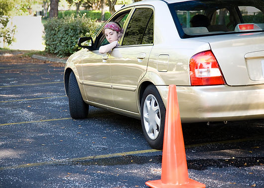 teaching your teen to drive parking