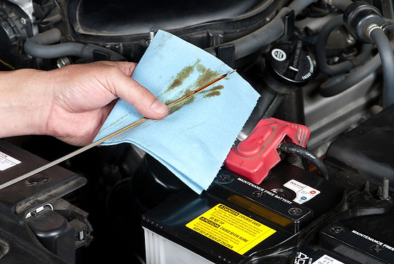 Running Old Oil in Your Car Dipstick Reading