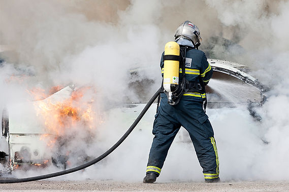 fireman and car fire, electric vehicle crashes and fires, electric vehicle accidents, dangers of electric vehicles, dangers of electric cars, electric car crashes