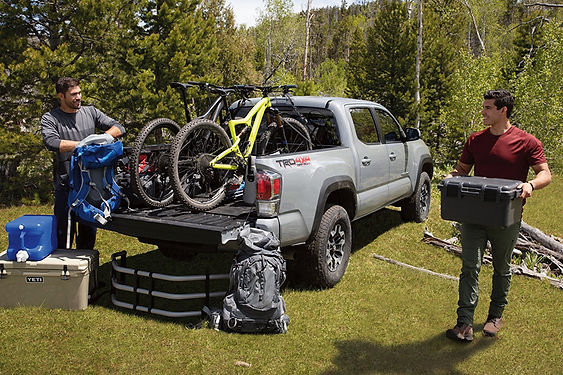 Great Cars For Camping Toyota Tacoma, great cars for camping, best cars for road trips, best cars for camping, best off-road vehicles, best camping vehicles