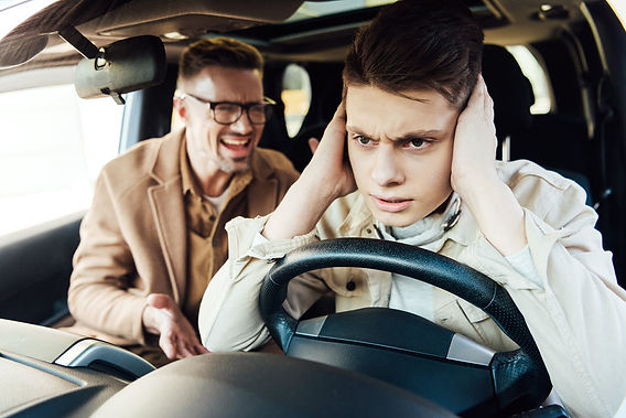 teaching your teen to drive emotions