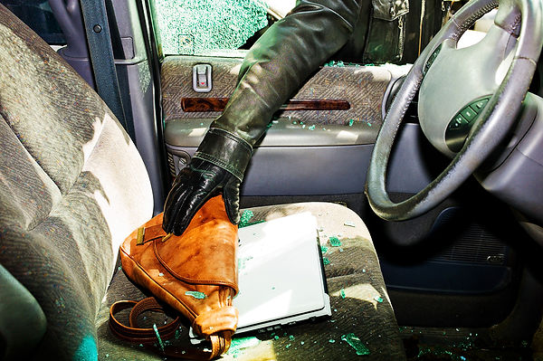 Keep Your Car Safe Car Thief Stealing Valuables, keep your car safe