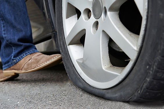 flat tire, take your car on a weekly ride, maintain your car, what happens to an unused car, car neglect, what happens to an undriven car