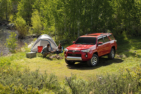 Great Cars For Camping Toyota 4Runner, great cars for camping, best cars for road trips, best cars for camping, best off-road vehicles, best camping vehicles