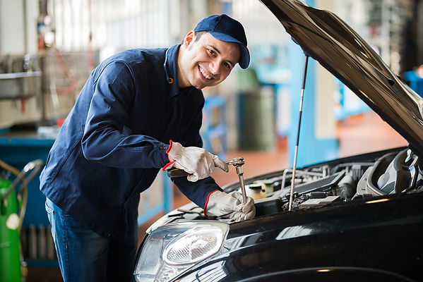 Don't Ignore The Check Engine Light Male Mechanic Checking Engine, don't ignore check engine light