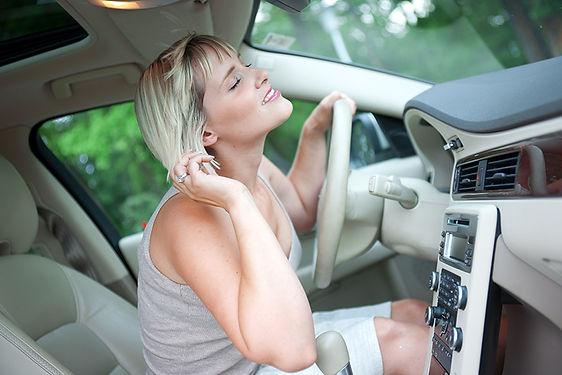 Car AC Not Blowing Cold Air Woman Getting Air In Car, car A/C not blowing cold, car A/C broken, broken car air conditioner, car A/C malfunction, fix a car A/C, car A/C blowing warm air, car A/C repair,