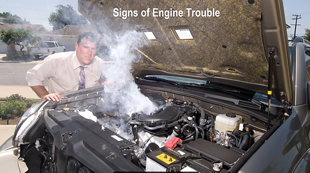 Signs of engine Trouble