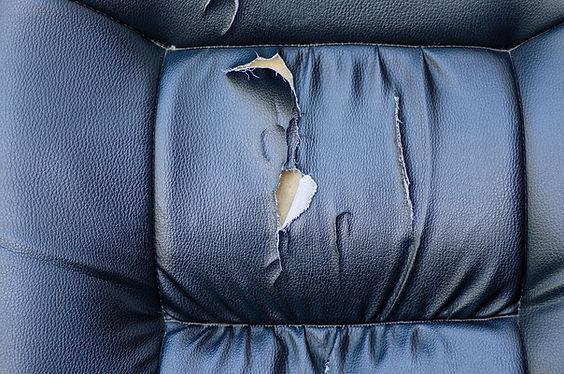 DIY Car Detailing Broken Car Upholstery