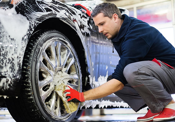 Rid Your Car Of Coronavirus Man Cleaning car, rid your car of corona virus