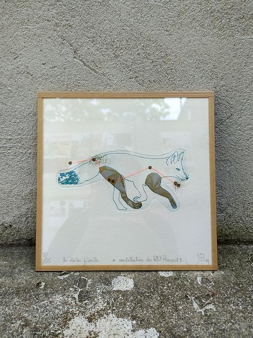 "Jeanne Picq - ""Constellation du Petit Renard"""