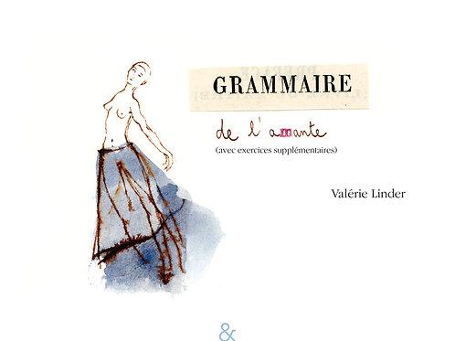 Esperluète éditions - «Grammaire de l'amante» de Valérie Linder