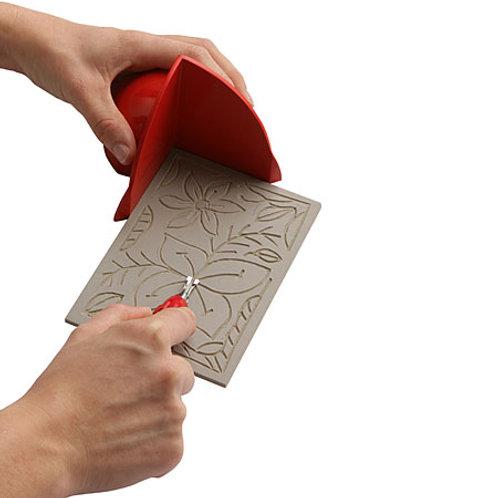 Essdee - Instrument de protection pour la découpe de lino