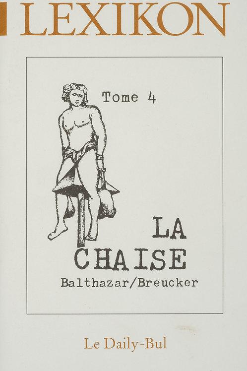Editions Daily-Bul - Lexikon 4 / La chaise