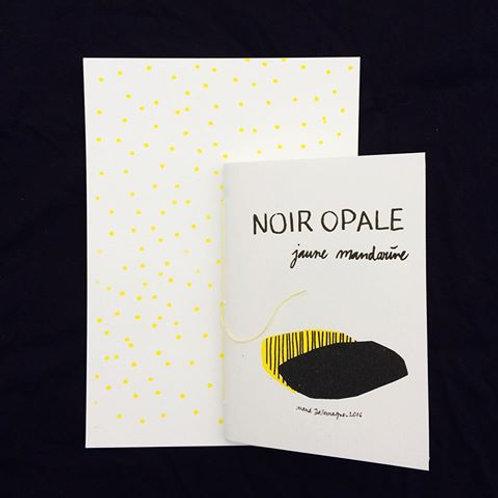 Actes Nord éditions - Noir Opale, Jaune Mandarine de Maud Dallemagne