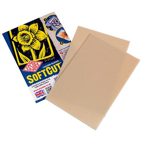 Essdee SoftCut - Paquet de 10 plaques de matière à graver