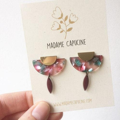 Madame Capucine - Boucle d'oreille