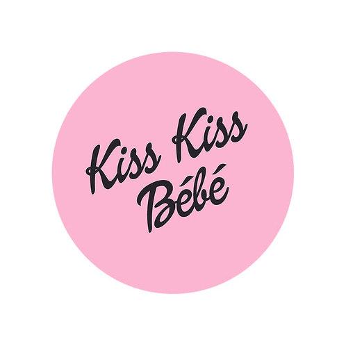 "Brock'n'Roll - Badge ""Kiss Kiss Bébé"""