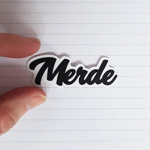 Sticker «Merde, Putain, Bordel»