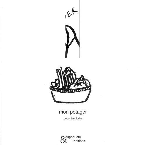 Esperluète éditions - «Mon potager» de Anne Leloup