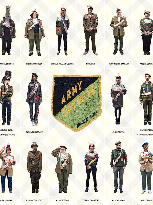 Fremok éditions - Army secrète